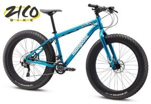 rower fat bike niebieski